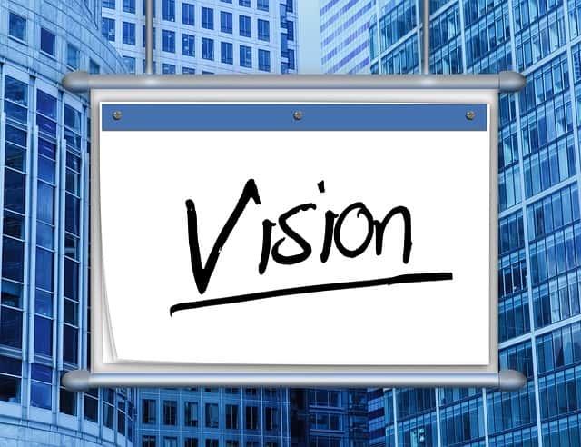 money vision board